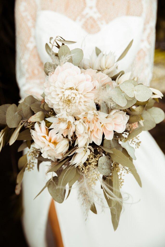 Der Brautstrauß, Oriental Boho Wedding.