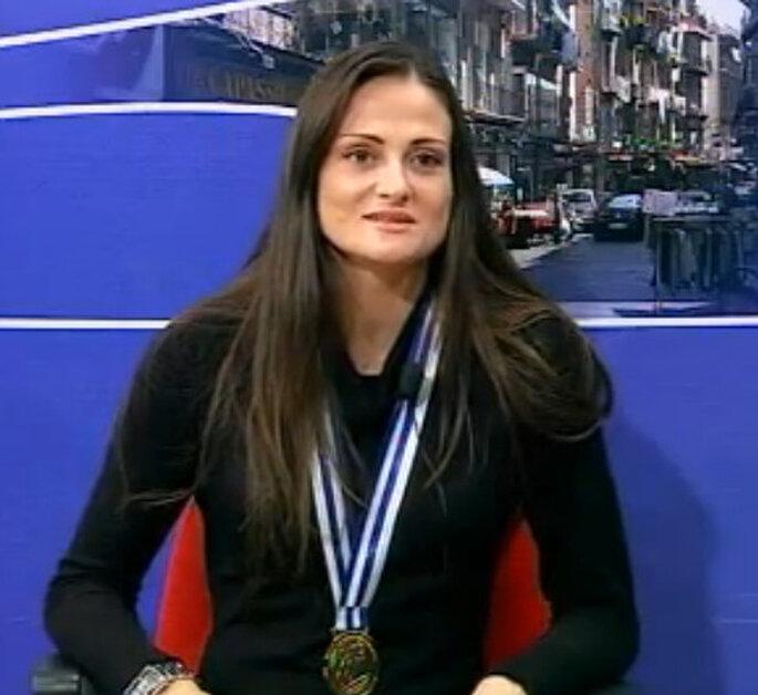 Antonella Del Core, pallavolista. Foto: youtube.com