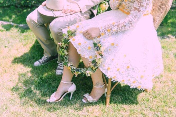 Traurede bei der Hochzeit im Tessin.