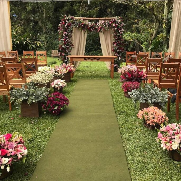Altar florido