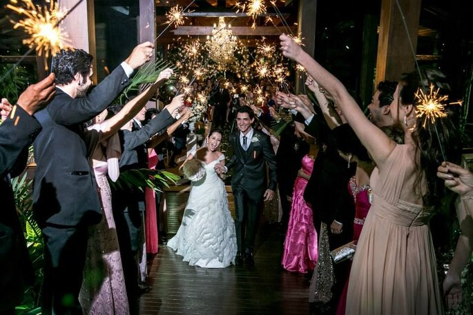 Diga sim ao sonho de um casamento rústico e chique!