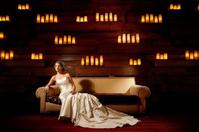 Poses de fotos de novia.Foto de Hiram Trillo.