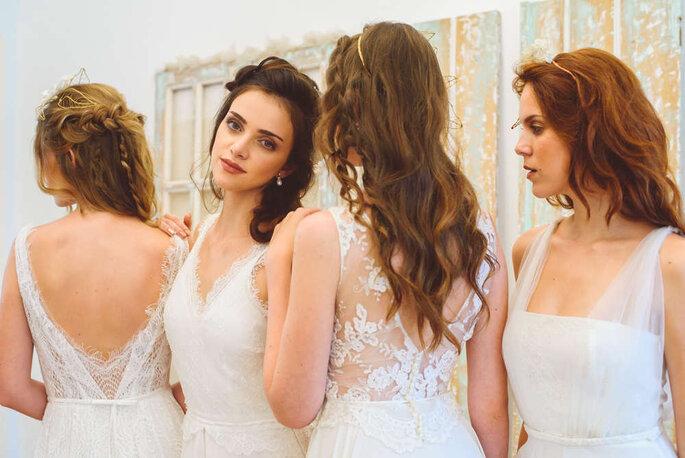 Vestidos de noiva fluidos