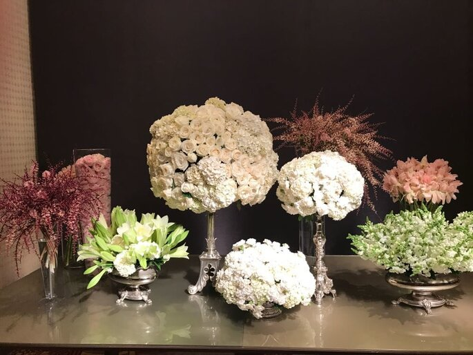 Designer floral inova a decoração do seu casamento