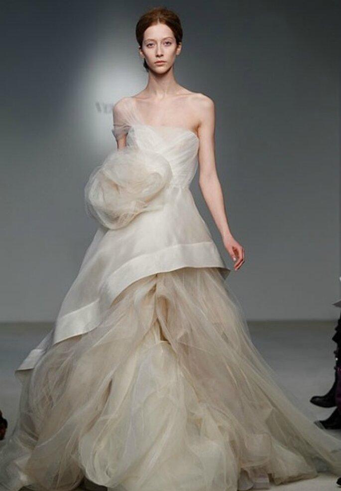 Vestido de novia para verte llamativa y romántica. Vera Wang 2012