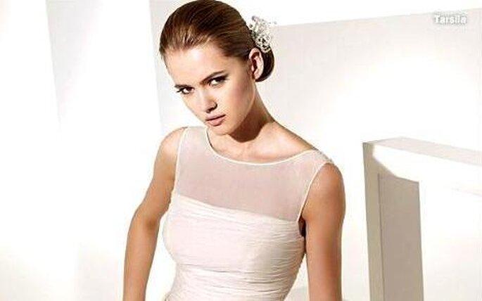 Coleccion de vestidos de novia Manuel Mota 2010