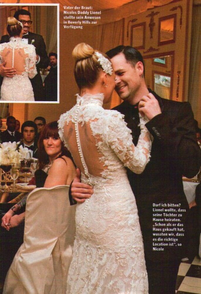 Robe de mariée Nicole Richie