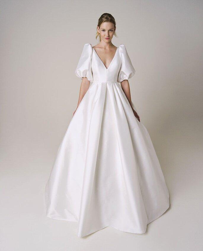 Brautkleid Trend mit Puffärmeln