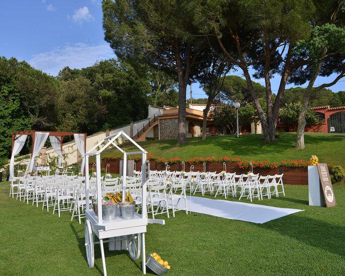 Hacienda del Hogar Gallego masía bodas Barcelona