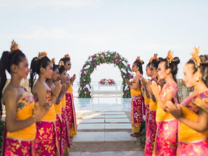 destination wedding na ásia