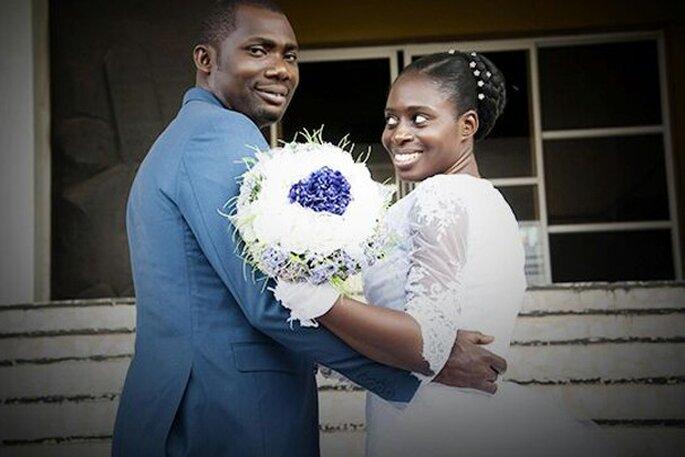 Noiva Bisola e marido