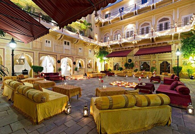 Photo: Samode Palace.