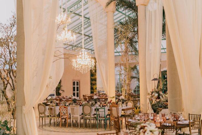 Decoração na Villa Giardini Ecoparque