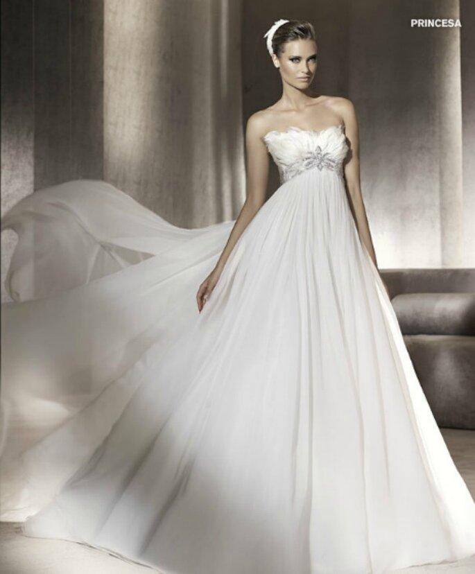 Eccezionale Tendenze 2010 - vestiti da sposa stile impero XH89