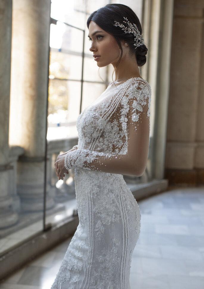 Accessoire pour cheveux et ceinture de mariée