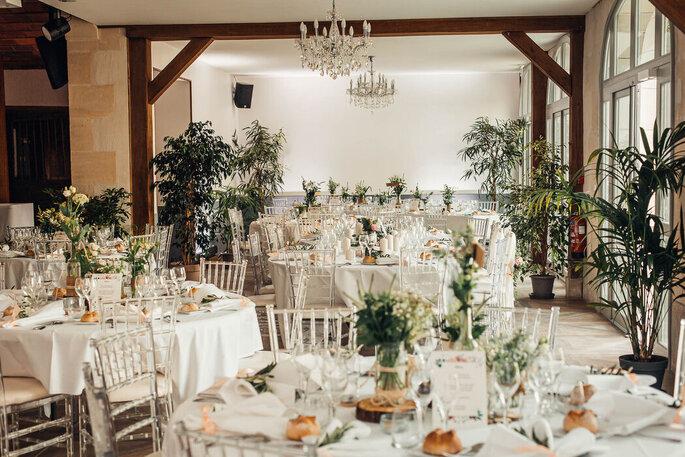 Salle de réception de mariage sublime