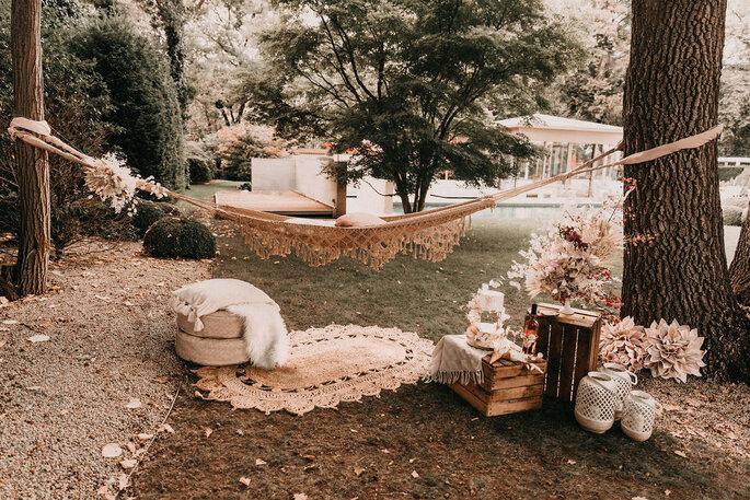 Elopement Fun Wedding Shooting Setting Picknick