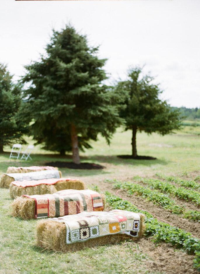 15 ideas súper ingeniosas para una boda al aire libre - Gabe Aceves