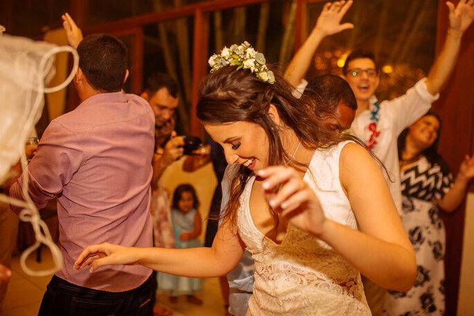 Noiva na festa