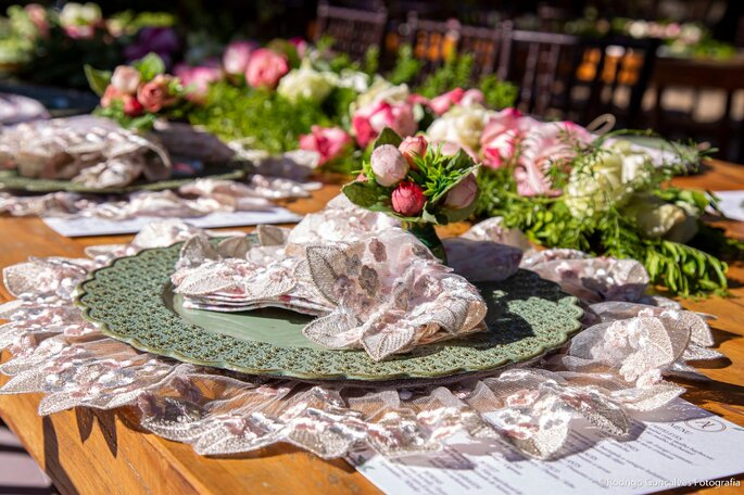 decoração mesa casamentos