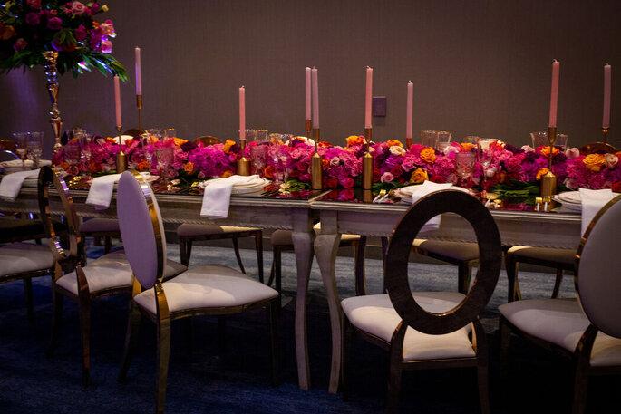 Hilton Bogota Corferias decoración de boda