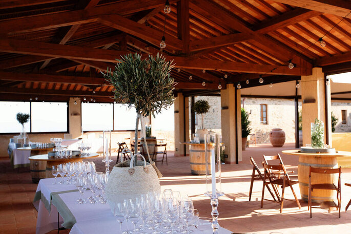 Heiraten in ColleMassari Toskana
