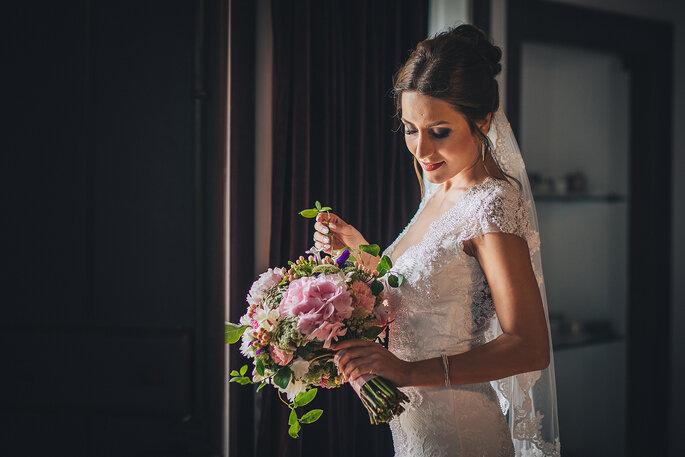 Como escolher o bouquet de noiva
