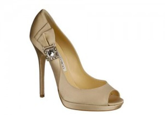 Jimmy Choo, novias con zapatos de color