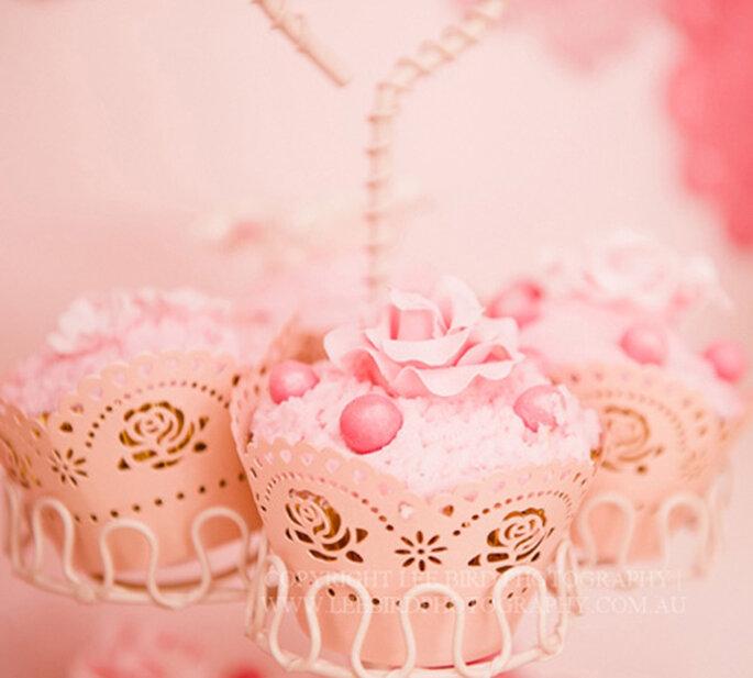 I cupcakes sono così belli che è un peccato mangiarli! Foto: Amy Atlas