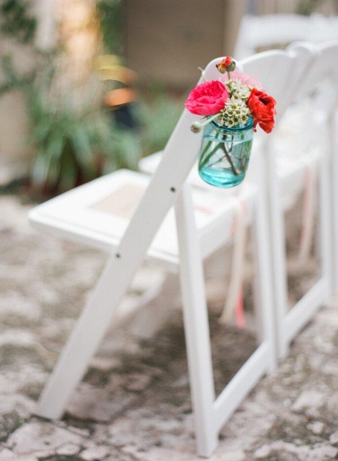 Los colores perfectos para decorar tu boda en 2015 - Foto Kat Braman