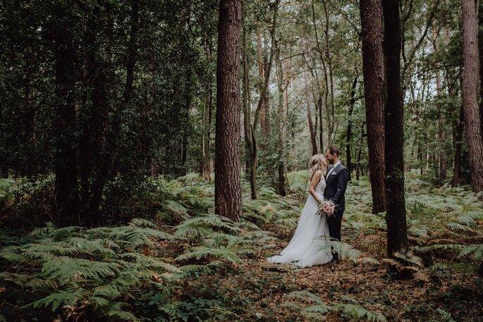 Herzensmensch Fotografie Shooting im Wald