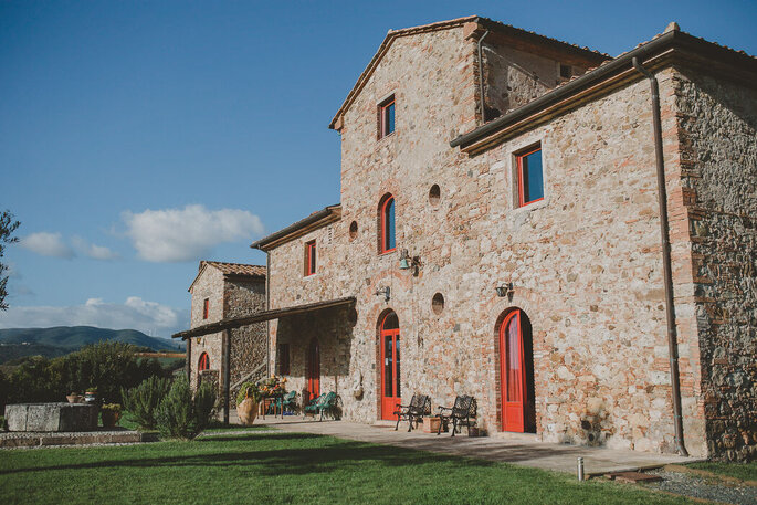 Podere Calvaiola, an immersion in the Tuscan countryside