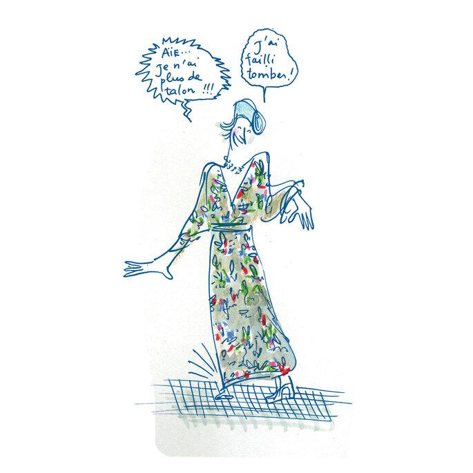 Croqueuse de mariage - Faire-part dessiné - Paris