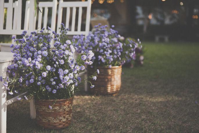 Flores cerimônia