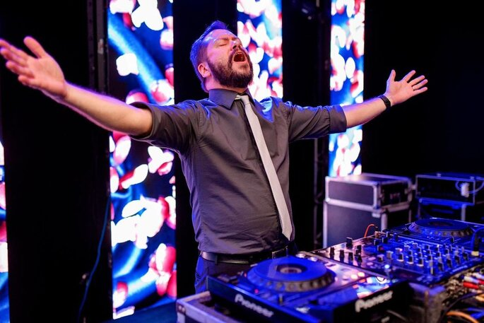 DJ Lelo Cardoso em ação