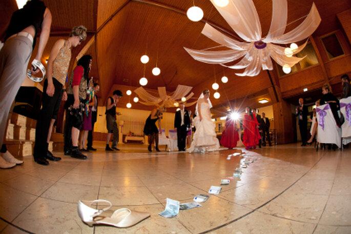 Spiele für die Hochzeitsfeier. Foto: Kirill Brusilovsky von unvergessliche-augenblicke.com