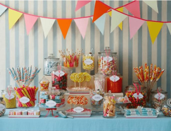 Tendencias bodas 2011: buffet de dulces - Candy buffet - Atlas Eventos ( www.amyatlas.com )
