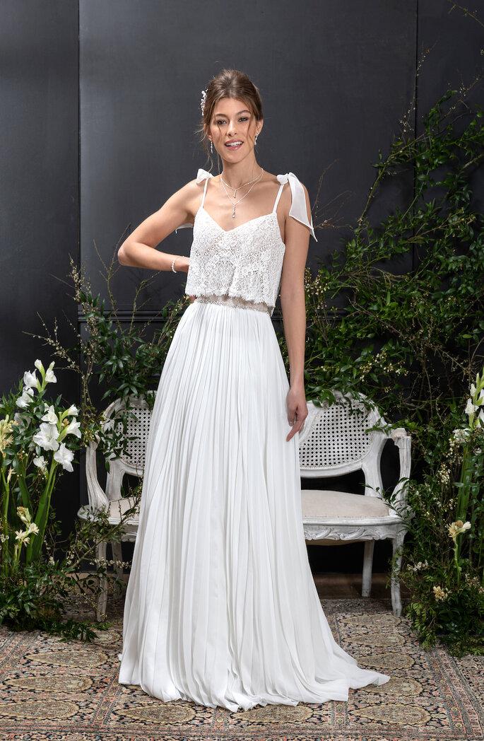 Eglantine Mariages & Cérémonies - Collection de robes de mariée 2021