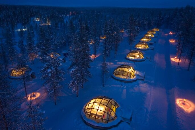 Kakslauttanen Arctic Resort - Igloos and Chalets 2