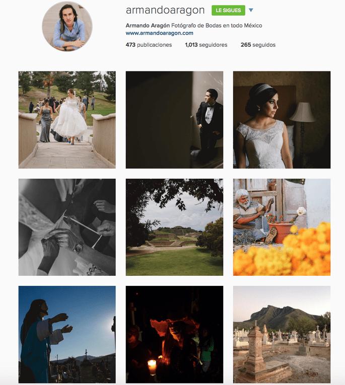 Armando Aragón Instagram