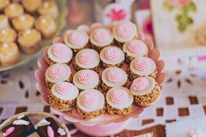 Docinhos de casamento da Ana Foster Chocolates para mini wedding