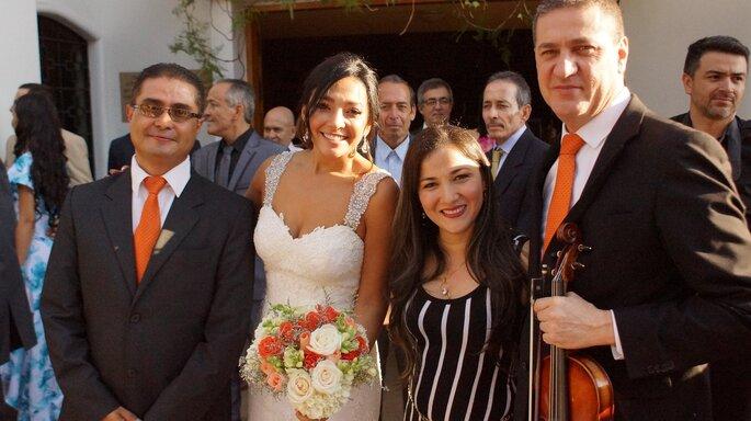 Angélica Valencia - Coro para Bodas Salida de los novios