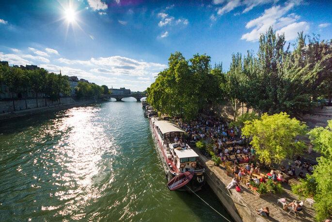 Péniche Le Marcounet - Lieu de réception mariage - Paris