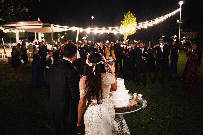 Phm studio - torta nuziale sposi