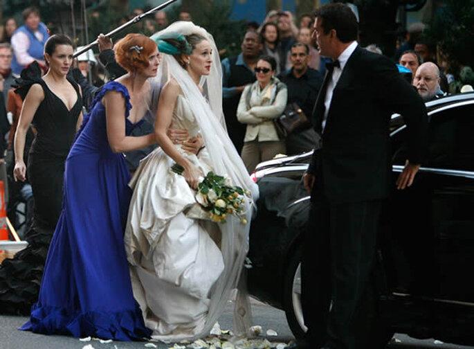 Imagen de la película Sex in the City, un ejemplo claro de bodas urbanas