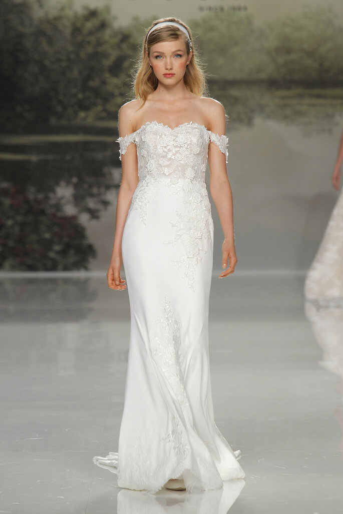 Vestido: Studio St. Patrick I Foto: Barcelona Bridal Fashion Week
