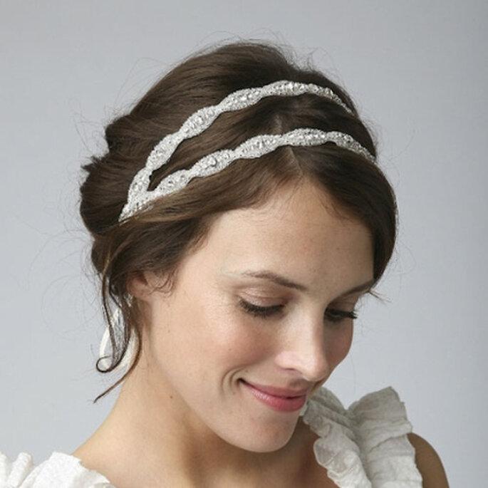 Poppy II Vintage Bridal Headband