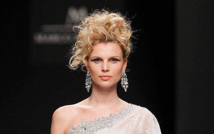 Colección vestidos de novia cortos M&M 2011