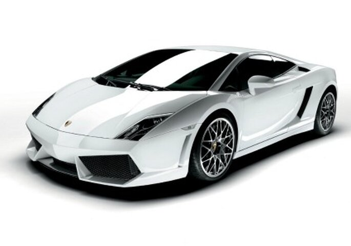 Lamborghini Gallardo bianca...il top!