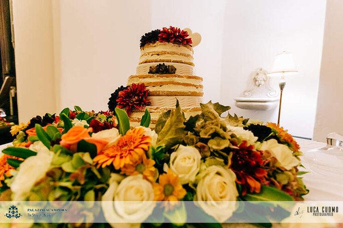 Palazzo Acampora - torta nuziale